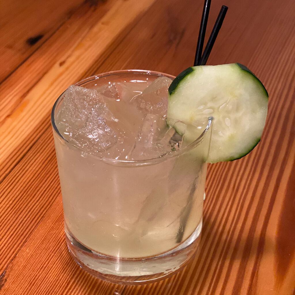 Cucumber Elderflower Gimlet