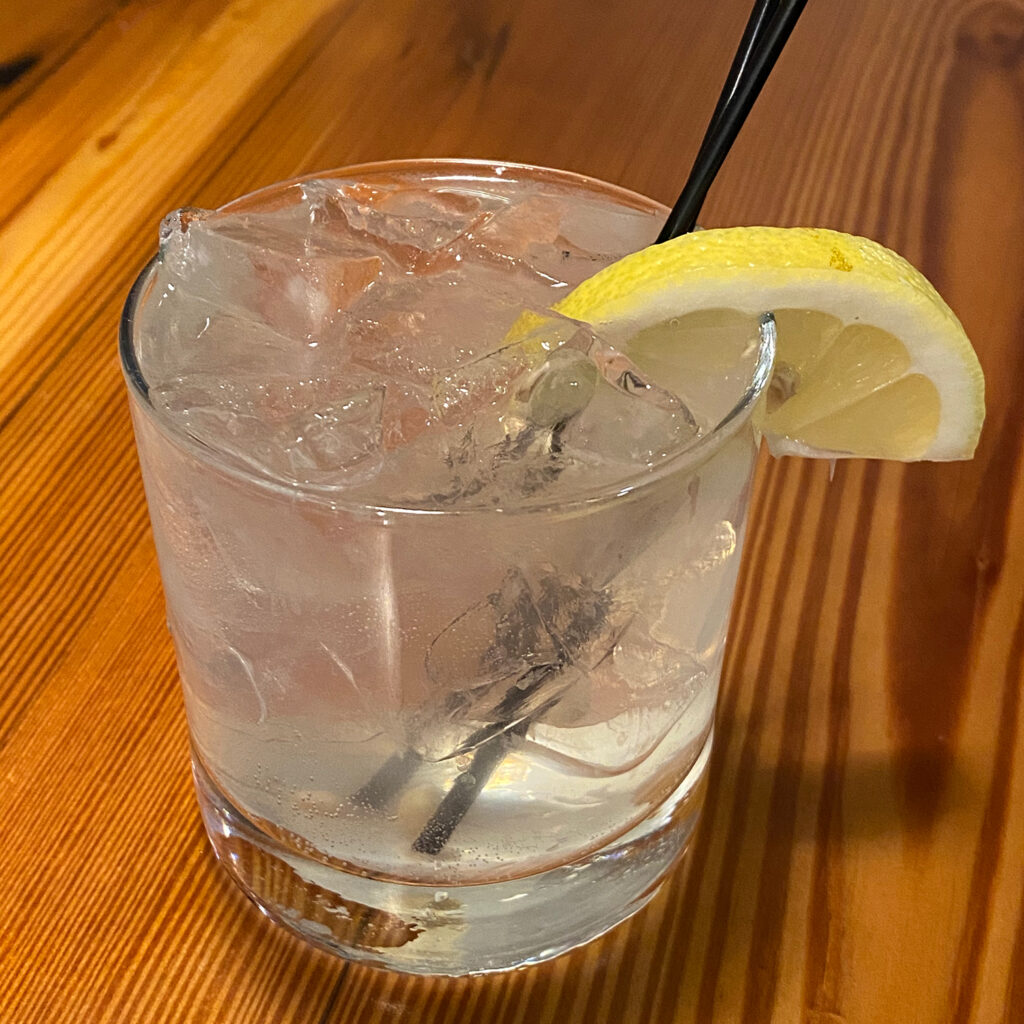 Lemongrass Gin & Tonic
